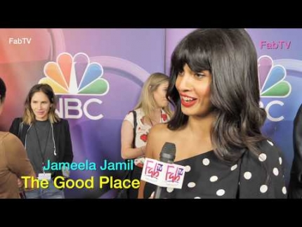 "Jameela Jamil talks about the last season of ""The Good Place"""