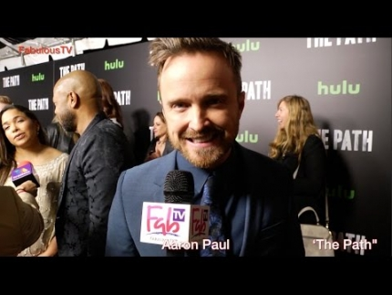 Aaron Paul reveals details about Hulu's 'THE PATH'