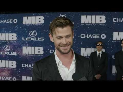 """MIB"" Men in Black  International Premiere with  Chris Hemsworth"