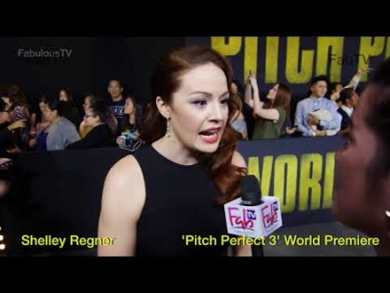 Shelley Regner 'Pitch Perfect 3' World Premiere on FabTV