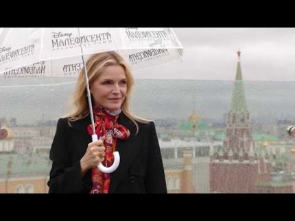 """Maleficent: Mistress of Evil""  Michelle Pfeiffer in Moscow"
