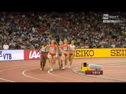 Women\'s 1500m FINAL World Championships Beijing 2015