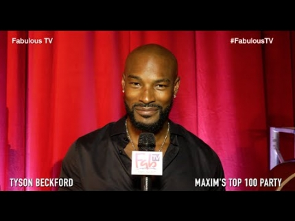 Tyson Beckford at 'MAXIM'S Top 100' 2016 Party on Fabulous TV