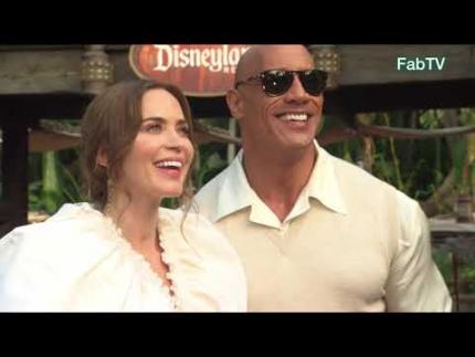 Disney's Jungle Cruise World Premiere at Disneyland! Arrivals &...