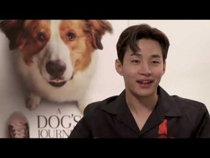 """A Dog's Journey""  Kathryn Prescott  & Henry Lau"