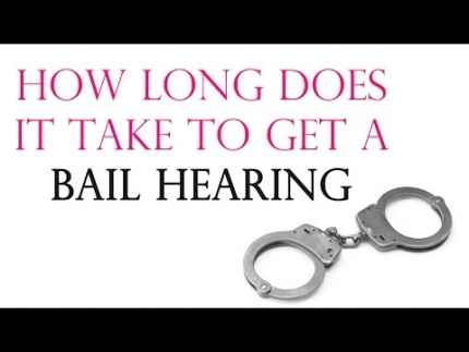 How Long Does It Take To Get A Bail Hearing - Saggi Law Firm | Call...