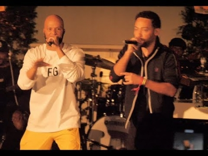 """Common"" performs at the ""Taste of SBE"" Live!"