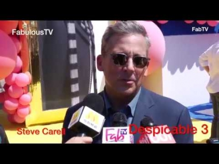 Steve Carell at 'Despicable Me 3' world premiere