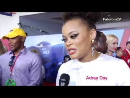 Andra Day at 'CARS 3' premiere on FabulousTV
