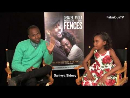 Saniyya Sidney at the 'FENCES' press junket is the cutest!!!