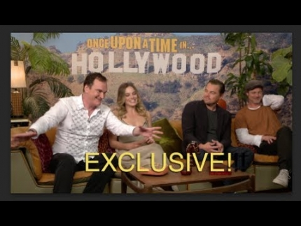"Exclusive!!! ""Once Upon A Time in Hollywood""   Whole cast!..."