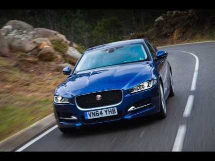2015 Jaguar XE driven