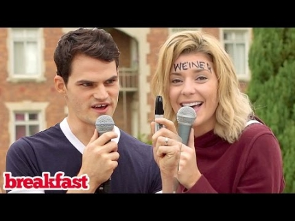 SAY ANYTHING CHALLENGE ft. Grace Helbig