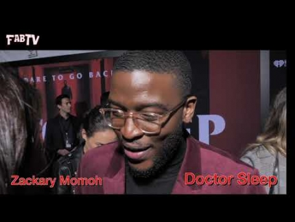 "Zackary Momoh on the red carpet of ""DOCTOR SLEEP"""