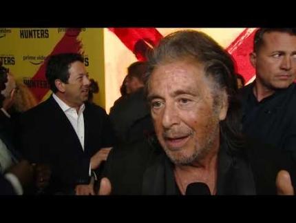 """Hunters"" premiere with Al Pacino"