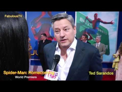 Ted Sarandos at the world premiere of Spider-Man: Homecoming