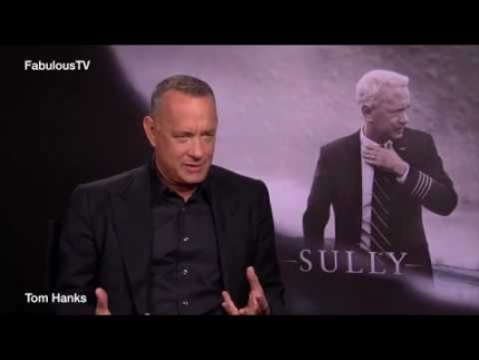 'SULLY' Capt.Sully Sullenberger played by Tom Hanks on FabulousTV