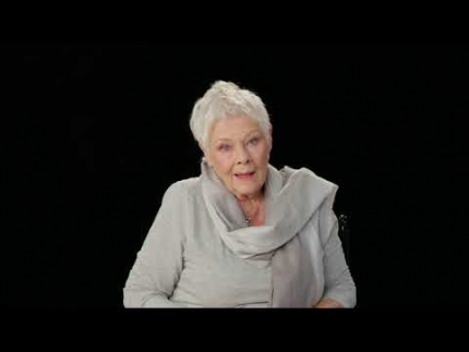 "Judy Dench in ""CATS"" is Old Deuternomy"