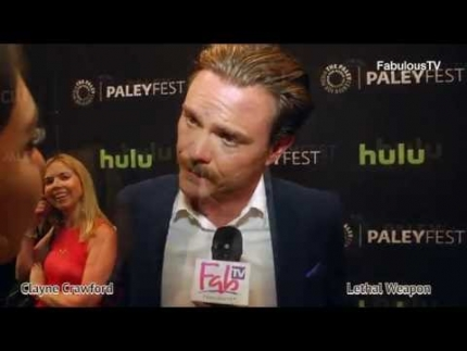 Clayne Crawford plays 'Riggs' on 'LETHAL WEAPON' the TV series premiere on FabulousTV