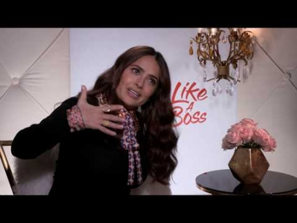 "Salma Hayek is Clair Luna in  ""Like a Boss"""