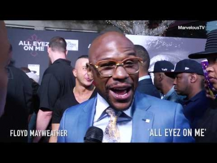 Floyd Mayweather talks about Conor fight! 'All EYEZ ON Me'