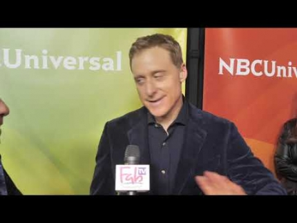 "Alan Tudyk interview  ""Resident Alien"" NBC Press Day 2020"