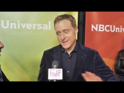 "Alan Tudyk interview  ""Resident Alien"" NBC Press Day 2020"