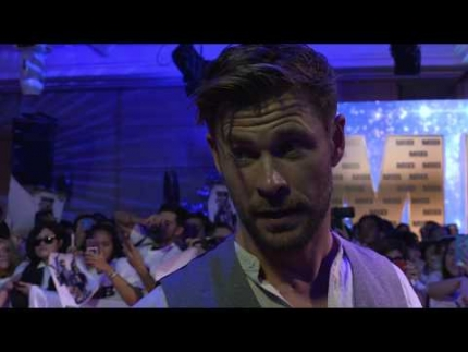 "Chris Hemsworth at the ""Men in Black"" PAN ASIAN MEDIA SUMMIT MIB FAN EVENT"