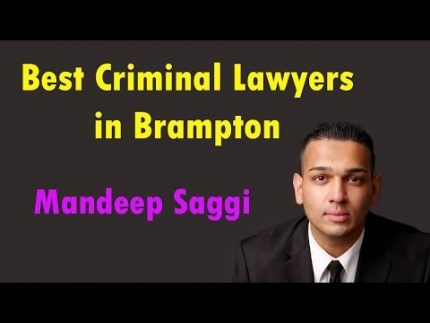 Best Criminal Lawyers In Brampton - Saggi Law Firm | Call Us at:(647-983-6720)
