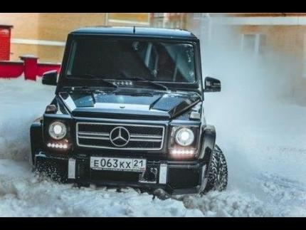 Mercedes-Benz G 55 AMG (500 л.с.)Тест-драйв.Anton Avtoman.
