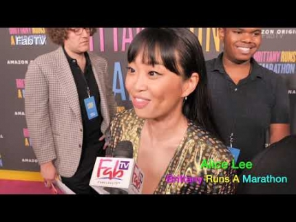 "Alice Lee @ ""Brittany Runs a Marathon"" world premiere"