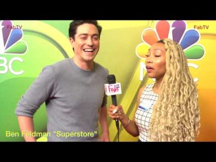 "Ben Feldman talks about ""Lip Sync Battle"" & ""Superstore"""