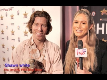 "Olympian Shaun White @ ""The Beverly Hills Dog Show""  on FabTV"