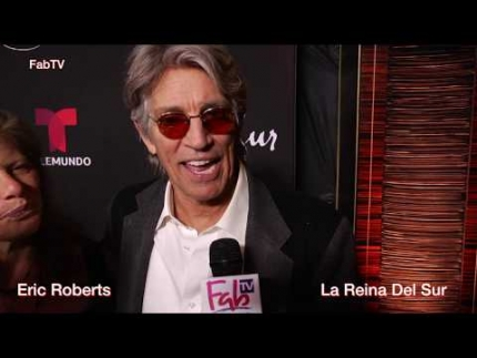 "Eric Roberts  at the ""La Reina Del Sur""  premiere in English & SPANISH"