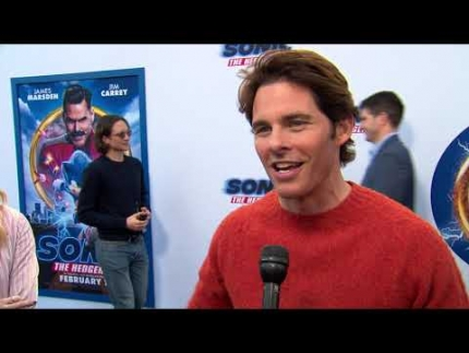 Sonic The Hedgehog with James Marsden