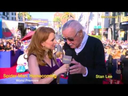 'Stan Lee' at Spider-Man: Homecoming world premiere