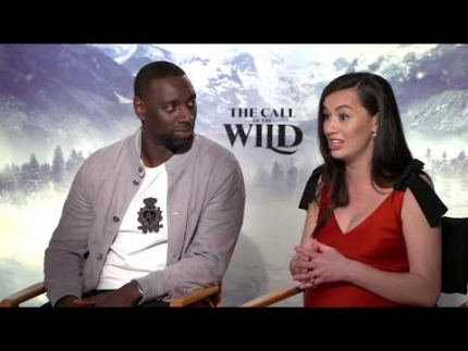 "Omar Sy & Cara Gee  detail ""THE CALL OF THE WILD"""
