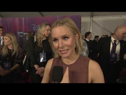 "KRISTEN BELL arrives at the ""FROZEN 2""  world premiere"