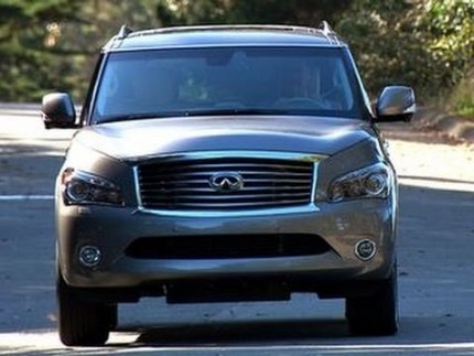 Car Tech - 2014 Infiniti QX80 AWD