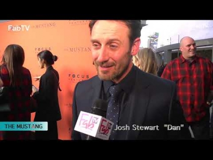 """THE MUSTANG""  premiere with Josh Stewart"