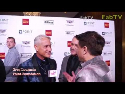 2 TIME Olympian GOLD MEDALIST Greg Louganis at the POINT Foundation event 2018