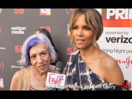 "Halle Berry & Alison Moed  The ""5B""  US Premiere & Red Carpet at LA Pride 2019"