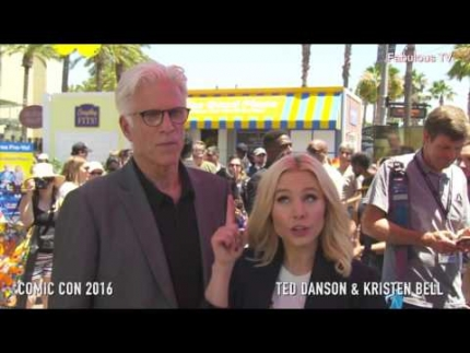 Ted Danson & Kristen Bell tell us about THE GOOD PLACE on Fabulous TV