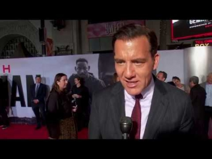 "Clive Owen arrives at the ""Gemini Man"" red carpet"