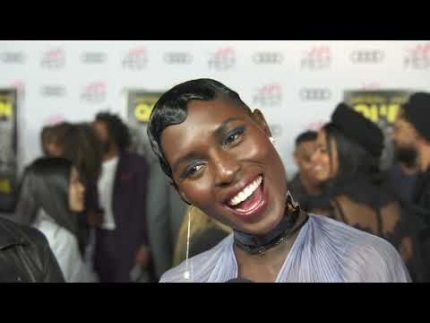 "Jodie Turner-Smith   ""Queen"" at the premiere & red..."