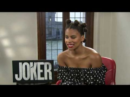 "Zazie Beetz stars in the ""JOKER"""