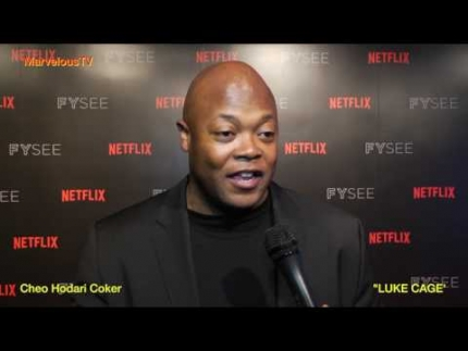 Cheo Hodari Coker at NETFLIX's FYSEE  'LUKE CAGE' on MarvelousTV