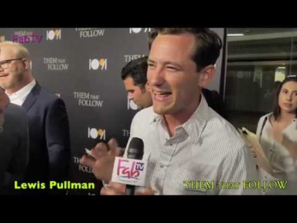"Actor Lewis Pullman at the ""THEM THAT FOLLOW""  premiere"
