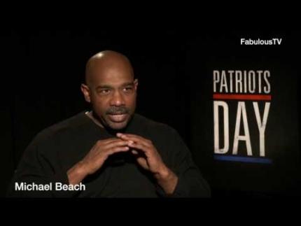 "Michael Beach stars in ""Patriots Day"" Tells All! on..."