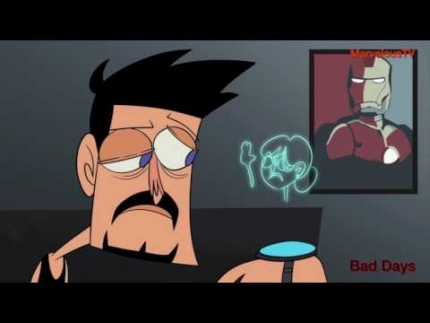 Stan Lee talks about newly found 'Bad Days' prints & Bad Days animation